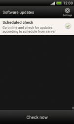 HTC Desire X - Software - Installing software updates - Step 10