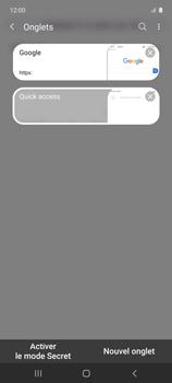 Samsung Galaxy A51 5G - Internet et connexion - Naviguer sur internet - Étape 18
