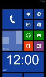 HTC Windows Phone 8S - Internet - Manual configuration - Step 1