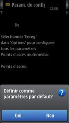 Nokia N8-00 - MMS - configuration automatique - Étape 8