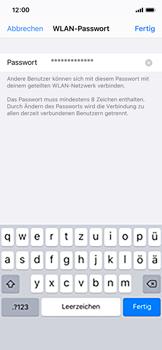 Apple iPhone X - iOS 14 - WiFi - So aktivieren Sie einen WLAN-Hotspot - Schritt 5