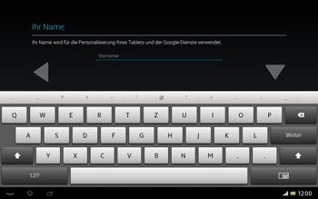 Sony Xperia Tablet Z LTE - Apps - Einrichten des App Stores - Schritt 5