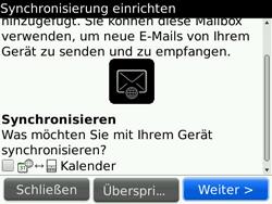 BlackBerry 9700 Bold - E-Mail - Konto einrichten - Schritt 11