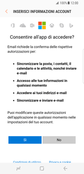 Samsung Galaxy S8 - E-mail - 032c. Email wizard - Outlook - Fase 9