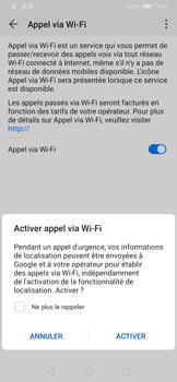 Huawei P30 - WiFi - Activez WiFi Calling - Étape 8