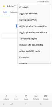 Samsung Galaxy Note9 - Internet e roaming dati - Uso di Internet - Fase 23