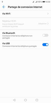 Huawei Y6 (2018) - Internet et connexion - Utiliser le mode modem par USB - Étape 8