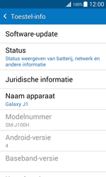 Samsung Galaxy J1 (SM-J100H) - Software updaten - Update installeren - Stap 5