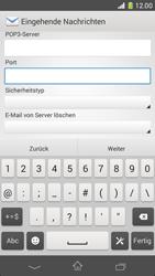 Sony Xperia Z1 Compact - E-Mail - Manuelle Konfiguration - Schritt 10