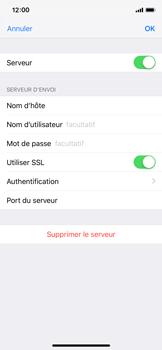 Apple iPhone X - iOS 12 - E-mail - Configuration manuelle - Étape 21