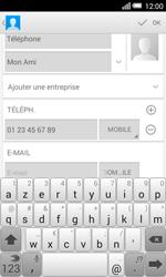 Alcatel OT-5050X Pop S3 - Contact, Appels, SMS/MMS - Ajouter un contact - Étape 12