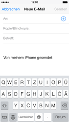 Apple iPhone 5 - E-Mail - E-Mail versenden - 4 / 16
