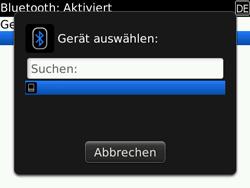 BlackBerry Bold - Bluetooth - Geräte koppeln - 8 / 11