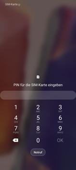 Samsung Galaxy Note 20 5G - Gerät - Einen Soft-Reset durchführen - Schritt 4