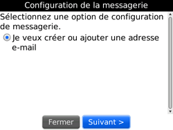 BlackBerry 9700 Bold - E-mail - Configuration manuelle - Étape 6
