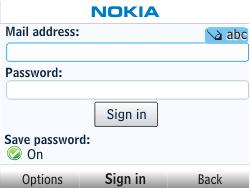 Nokia Asha 201 - Email - Manual configuration - Step 6