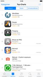 Apple iPhone 6 Plus - iOS 8 - Apps - Einrichten des App Stores - Schritt 5