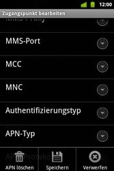 Alcatel OT-983 - MMS - Manuelle Konfiguration - Schritt 14
