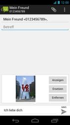 Samsung Galaxy Nexus - MMS - Erstellen und senden - 14 / 17