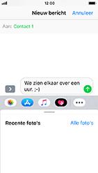 Apple iPhone SE - iOS 12 - MMS - afbeeldingen verzenden - Stap 8