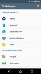 Sony Xperia XZ - Netzwerk - Netzwerkeinstellungen ändern - 4 / 8