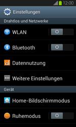 Samsung I9100 Galaxy S2 mit Android 4.1 - WLAN - Manuelle Konfiguration - Schritt 4