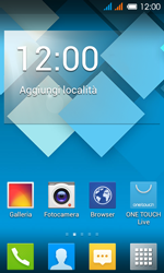 Alcatel One Touch Pop C3 - Dispositivo - Come eseguire un soft reset - Fase 1