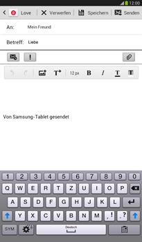 Samsung T211 Galaxy Tab 3 7-0 - E-Mail - E-Mail versenden - Schritt 9