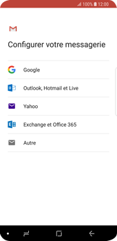 Samsung Galaxy S9 - E-mail - 032a. Email wizard - Gmail - Étape 8
