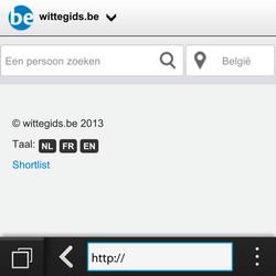 BlackBerry Q5 - Internet - internetten - Stap 11