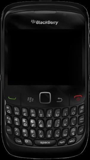 BlackBerry 8520 - Premiers pas - Découvrir les touches principales - Étape 2
