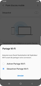 Samsung Galaxy Note9 - Android Pie - WiFi - Comment activer un point d'accès WiFi - Étape 7