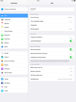 Apple iPad Pro 12.9 inch (2nd generation) - E-mail - Account instellen (IMAP met SMTP-verificatie) - Stap 30