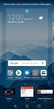 Huawei Mate 10 Pro - Operazioni iniziali - Installazione di widget e applicazioni nella schermata iniziale - Fase 5