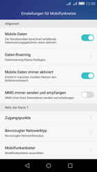 Huawei Y6 - Internet - Manuelle Konfiguration - Schritt 9