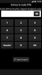Sony Xpéria SP - Premiers pas - Créer un compte - Étape 2