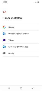 Samsung Galaxy A20e - E-mail - e-mail instellen (gmail) - Stap 8