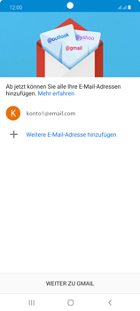Samsung Galaxy Note 20 5G - E-Mail - Manuelle Konfiguration - Schritt 22