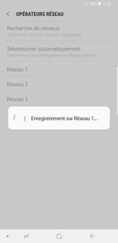Samsung Galaxy Note9 - Réseau - Sélection manuelle du réseau - Étape 12
