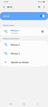 Samsung Galaxy A42 5G - Internet et connexion - Accéder au réseau Wi-Fi - Étape 9