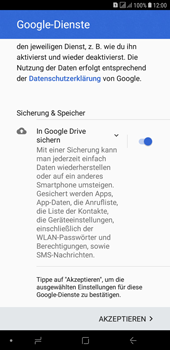 Samsung Galaxy J4+ - Apps - Konto anlegen und einrichten - Schritt 20