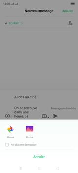 Oppo A9 2020 - Contact, Appels, SMS/MMS - Envoyer un MMS - Étape 17