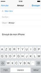 Apple iPhone 5c - E-mails - Envoyer un e-mail - Étape 7