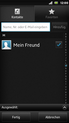Sony Xperia U - MMS - Erstellen und senden - 0 / 0