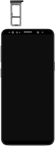 Samsung Galaxy S9 Android Pie - Appareil - comment insérer une carte SIM - Étape 3