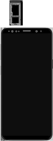 Samsung Galaxy S9 Android Pie - Toestel - simkaart plaatsen - Stap 3