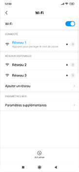 Xiaomi RedMi Note 7 - WiFi - Configuration du WiFi - Étape 7