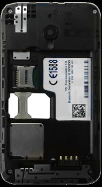 Alcatel OT-4009D Pixi 3 (3.5) - SIM-Karte - Einlegen - Schritt 4