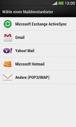 HTC Desire 500 - E-Mail - Konto einrichten - 1 / 1