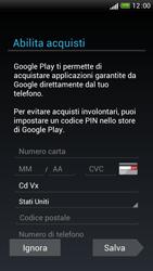 HTC One S - Applicazioni - Configurazione del negozio applicazioni - Fase 14
